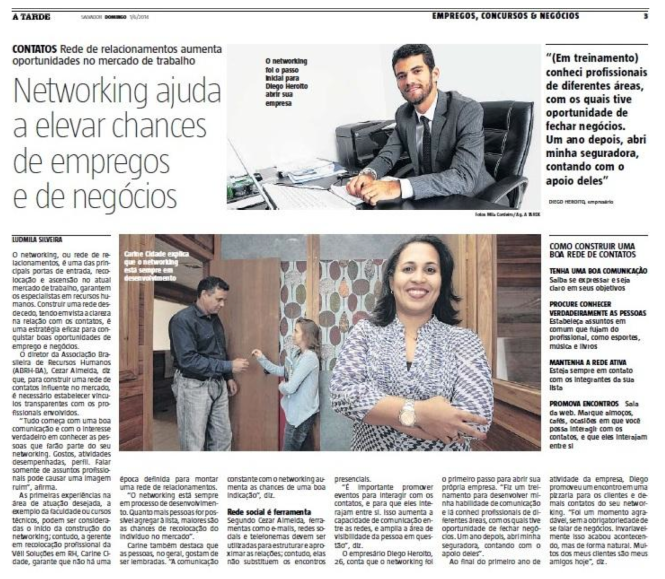 Entrevista Jornal A Tarde